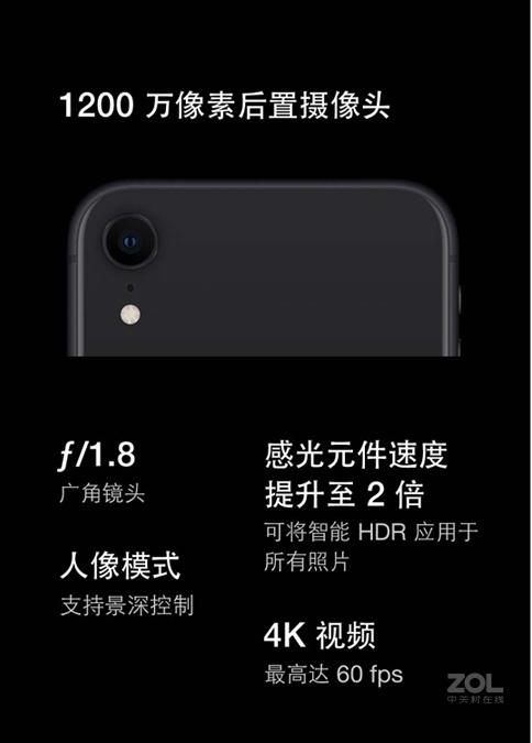 苹果iPhone XR(全网通)评测图解产品亮点图片13