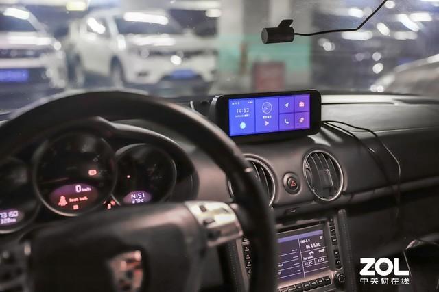 让保时捷焕然一新 70迈智能行车助手套装体验