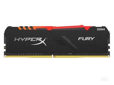 金士顿骇客神条FURY 8GB DDR4 2666 RGB(HX426C16FB3A/8)