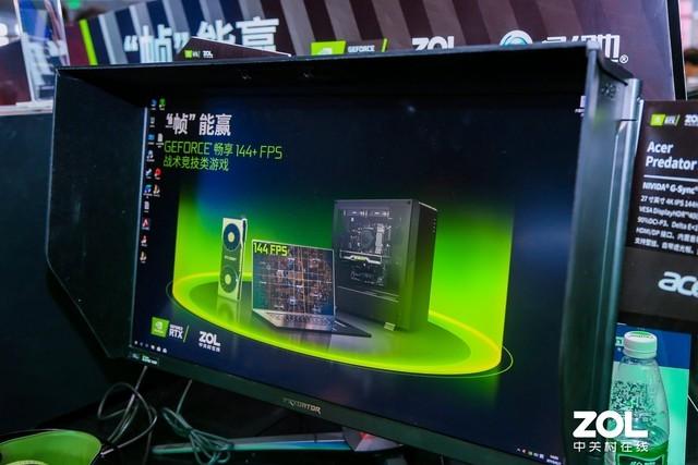 Acer Predator X27显示器 CJ现场大受欢迎