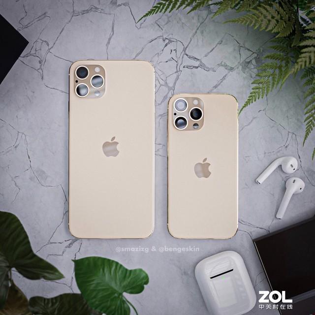 无刘海iPhone概念图赏 比iPhone 11好看多了