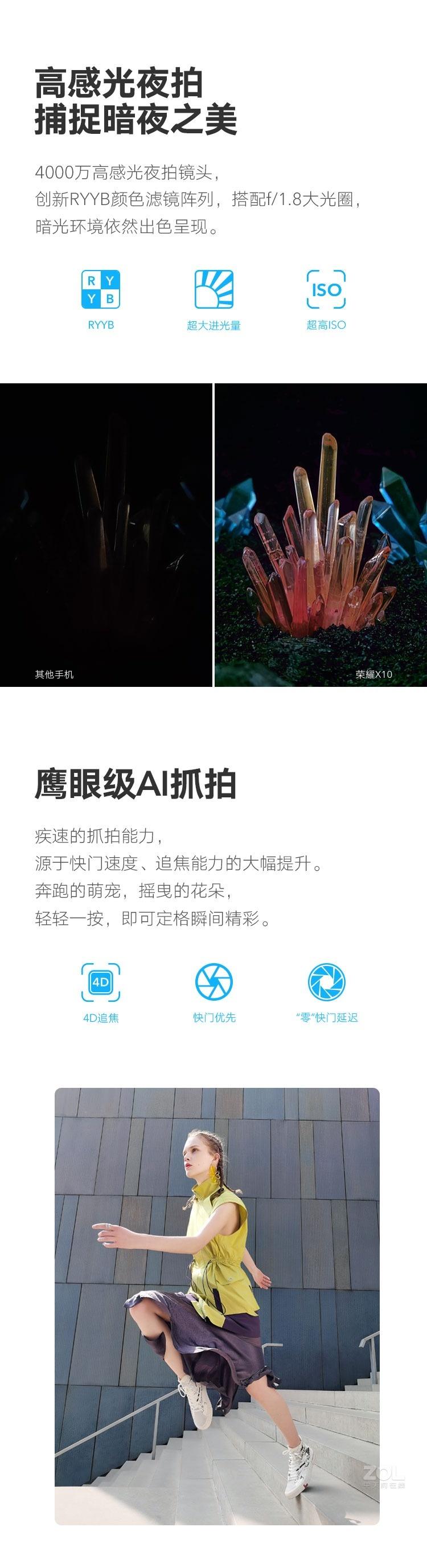 荣耀X10(6GB/128GB/全网通/5G版)评测图解产品亮点图片4