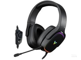 雷柏VH700虚拟7.1声道RGB线控游戏耳机