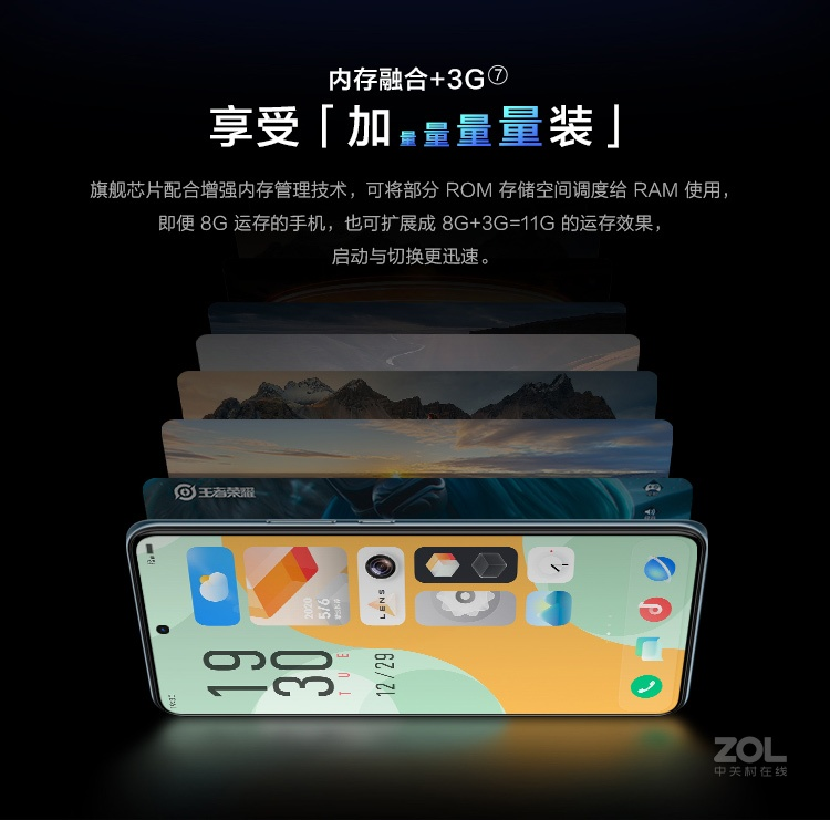 vivo X60(8GB/128GB/全网通/5G版)评测图解产品亮点图片18