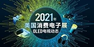 2021年CES美国消费电子展OLED自发光电视动态