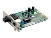 一舟10/100M单模双纤卡式光纤收发器SD100-20