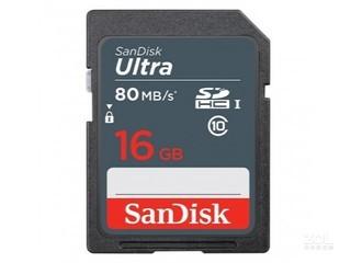 闪迪至尊高速SDHC/SDXC UHS-I存储卡(16GB)