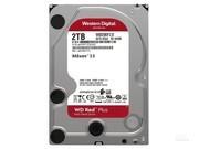 西部数据 红盘Plus 2TB 5400转 128MB SATA3(WD20EFZX)