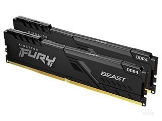 金士顿FURY Beast 32GB(2×16GB)DDR4 3600(KF436C18BBK2/32)