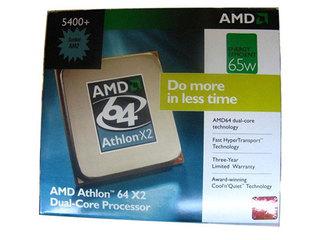 AMD 速龙64 X2 5400+(盒)