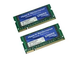 金士顿2GB DDR2 667 HYPERX(笔记本套装)