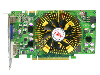 七彩虹逸彩9600GT-GD3 CF黄金版 256M V11
