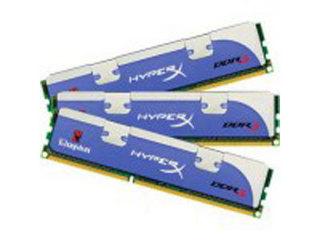 金士顿HyperX 3GB DDR3 1600(三通道套装)