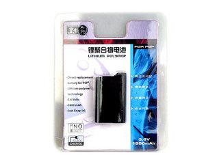 黑角PSP锂聚合物电池1800mAH(MK-PSP/00761R)