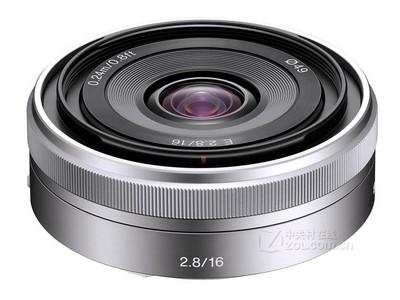 【诚信商家●华晨数码】索尼 E 16mm f/2.8(SEL16F28)索尼微单饼干镜头