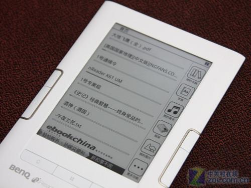 Sipix电容触控屏 明基nReader K61评测