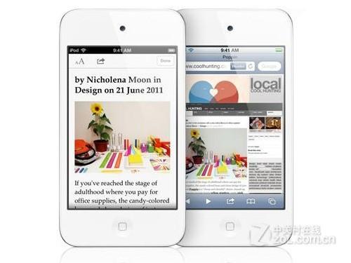 亚马逊最低价 白色iPod touch 4仅1298元