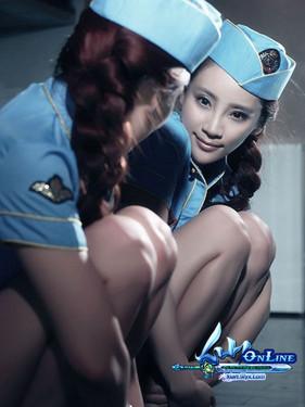 《仙ol》美女代言 战-冷酷侠女邵路雅