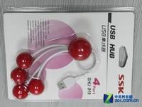 樱桃可爱造型 SSK SHU019集线器解析