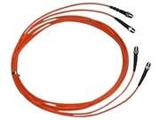 清华同方 2米双芯单模光纤跳线(ST-ST)(FJ2ST-ST-S2)