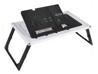 daho LD99 风扇折叠笔记本电脑桌(黑白)