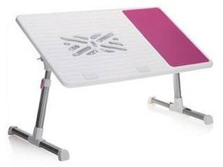 daho FD-1 双风扇笔记本电脑桌(粉红色)