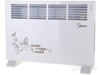 美的取暖器NDK16-10F1家用居浴两用电暖器暖风机节能防水暖风机