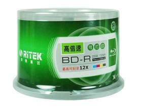 铼德蓝光可打印BD-R 12速 25G(50片桶装)