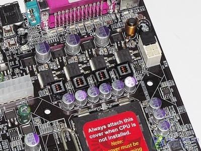 磐正EP-5P965+GLI主板豪华供电