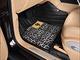 亚洲象珍珠鱼皮系列 黑豹纹 汽车脚垫